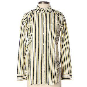J. Crew vertical button down shirt 0